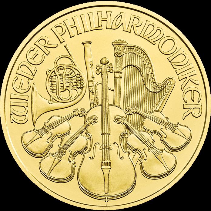 Austrian Philharmonic 2018 1 oz Gold Ten Coin Tube