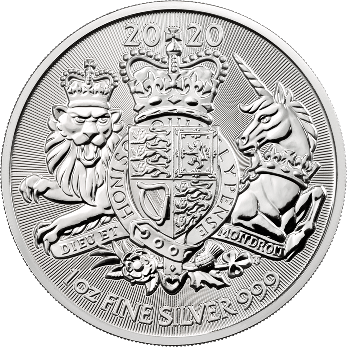 The Royal Arms 2020 1 oz Silver Coin