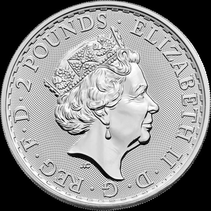 Britannia 2018 Oriental Border 1 oz Silver Coin