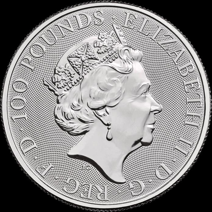 Britannia 2020 1 oz Platinum Coin Tube