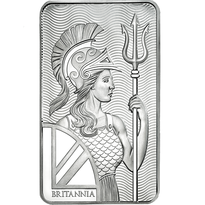 Britannia - 10 oz Silver Minted Bar