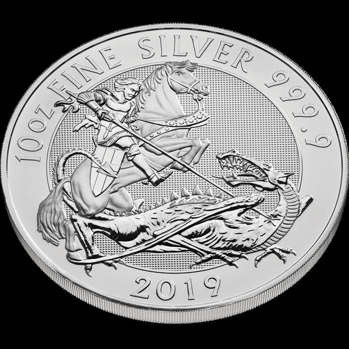 The Valiant 2019 10 oz Silver Coin