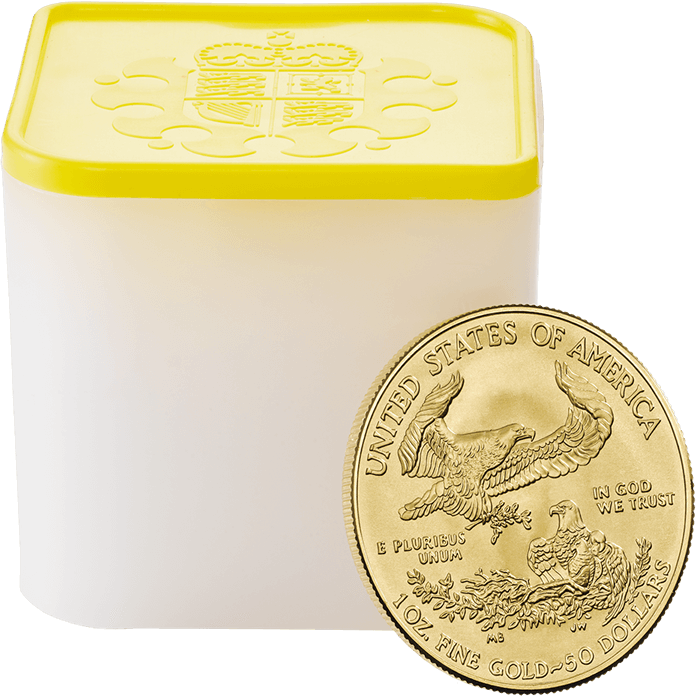 American Eagle 2018 1 oz Gold Ten Coin Tube