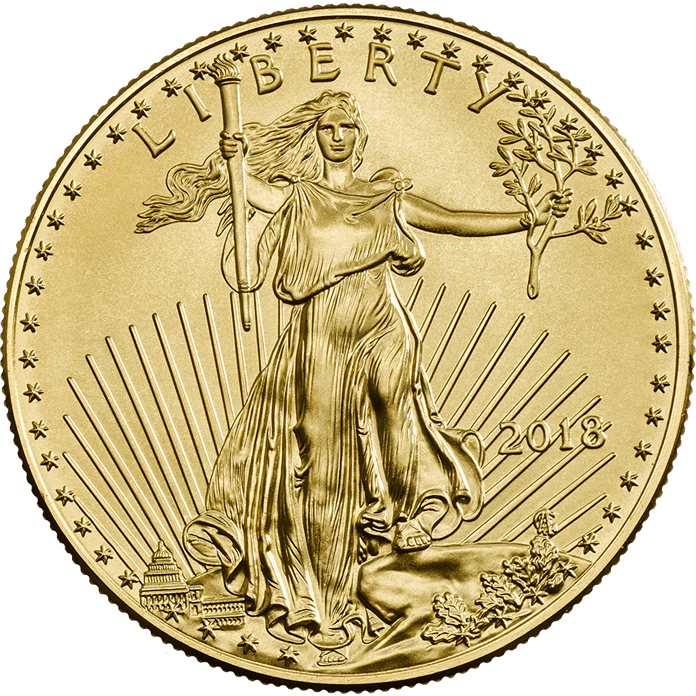 American Eagle 2018 1 oz Gold Coin