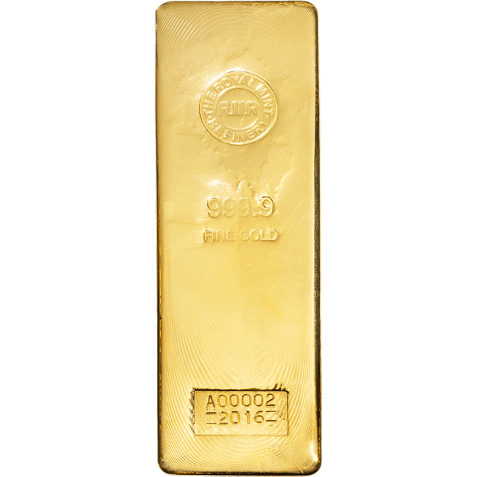 400 oz Gold Bar Cast
