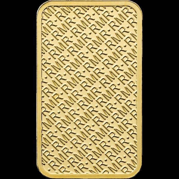 5 g Gold Bar Minted