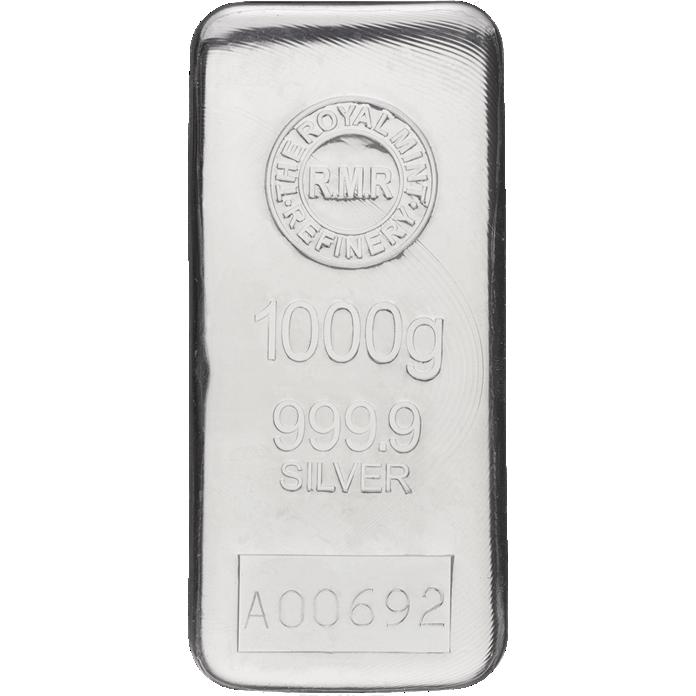 1 kg Silver Bar Cast