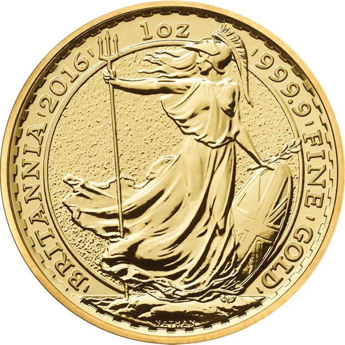 Britannia 2016 1 oz Gold Ten Coin Tube