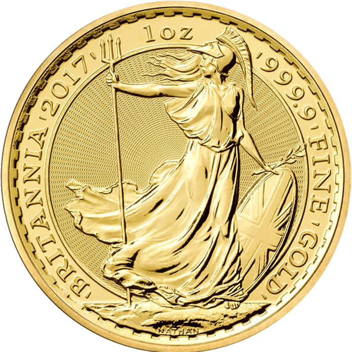 Britannia 2017 1 oz Gold Coin