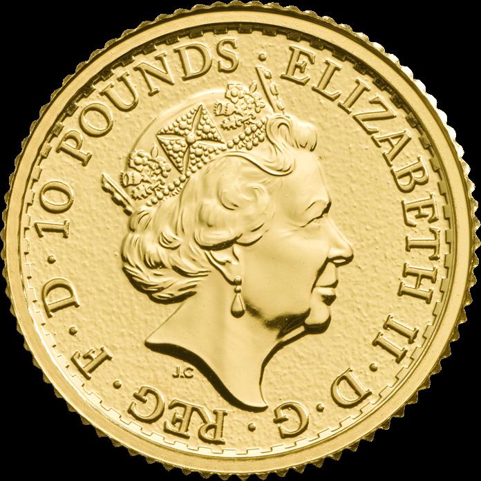 Britannia 2017 1/10 oz Gold Coin