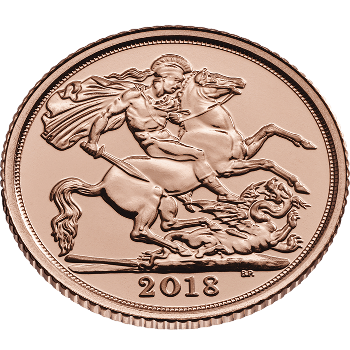 The Half Sovereign 2018 Gold Coin
