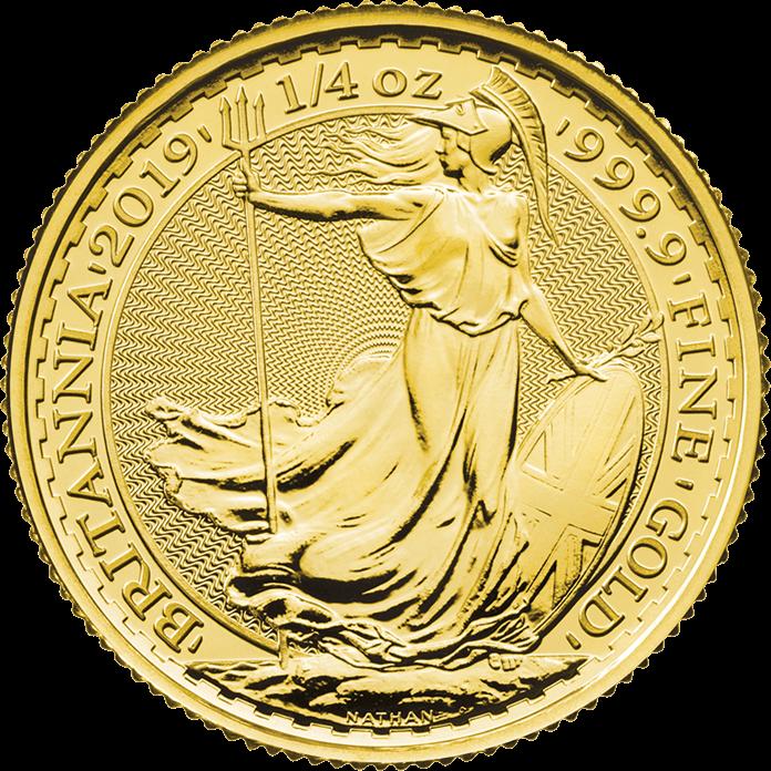 Britannia 2019 1/4 oz Gold Coin