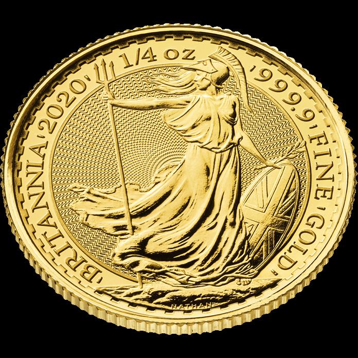 Britannia 2020 1/4 oz Gold Coin