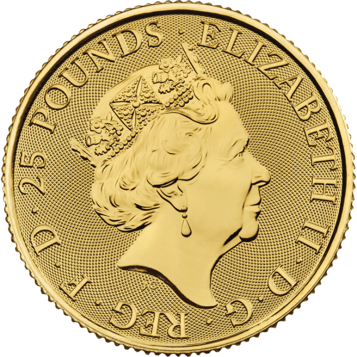 Gold Standard 2019 1/4 oz Gold Coin