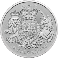The Royal Arms 2019 1 oz Silver Coin