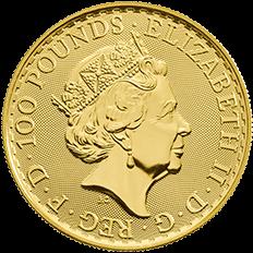 Britannia 2019 Oriental Border 1 oz Gold Coin