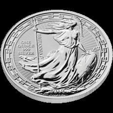 Britannia 2019 Oriental Border 1 oz Silver Coin
