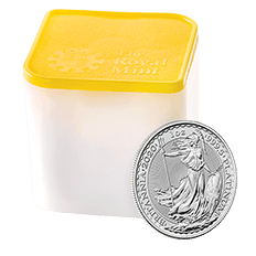 Britannia 2020 1 oz Platinum Coin Tube