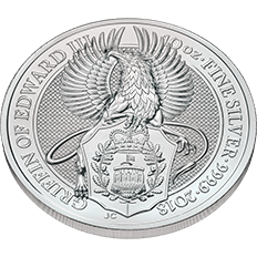 The Queen's Beasts 2018 The Griffin 10 oz Silver Coin