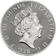 The Queen's Beasts 2020 Yale of Beaufort 10 oz Silver Coin