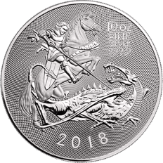The Valiant 2018 10 oz Silver Coin