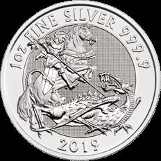 The Valiant 2019 1 oz Silver Coin