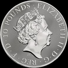 The Valiant 2020 Silver 10 oz Bullion Coin