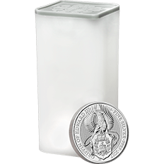 The Queen's Beasts 2017 The Griffin 2 oz Silver Ten Coin Tube