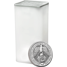 The Queen's Beasts 2019 Falcon 2 oz Silver Ten Coin Tube