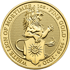 The Queen's Beasts 2020 The Lion of Mortimer 1 oz Gold Coin