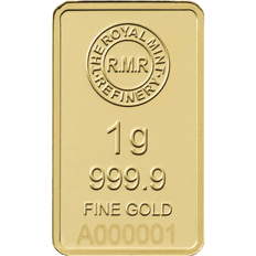 1 g Gold Bar Minted