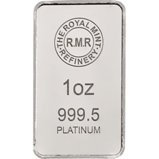 1 oz Platinum Bar Minted