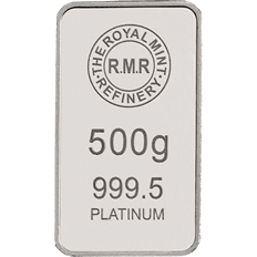 500 g Platinum Bar Minted