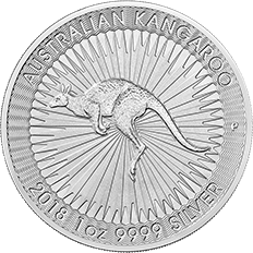 Australian Nugget 2018 1 oz Silver Twenty Five Coin Tube