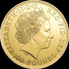 Britannia 2014 1 oz Gold Ten Coin Tube