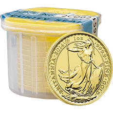 Britannia 2014 1 oz Gold Ten Coin Tube