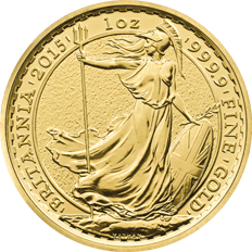 Britannia 2015 1 oz Gold Ten Coin Tube