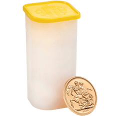 The Sovereign 2016 Gold Twenty Five Coin Tube