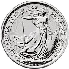 Britannia 2017 Anniversary 1 oz Silver Coin