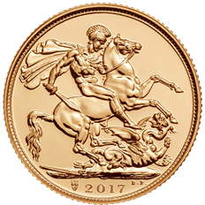 The Sovereign 2017 Gold Coin