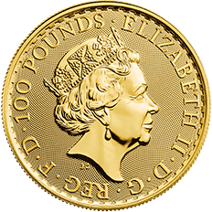Britannia 2018 1 oz Gold Coin