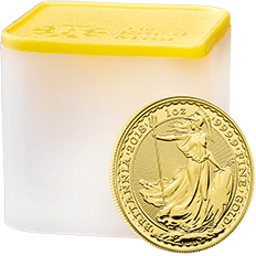 Britannia 2018 1 oz Gold Ten Coin Tube