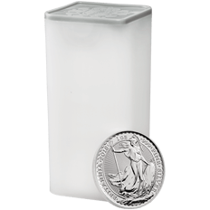 Britannia 2018 1 oz Silver Twenty Five Coin Tube