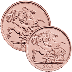 The Full Sovereign & Half Sovereign 2019 Gold Coin Bundle