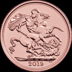 The Sovereign 2019 Gold Bullion 25 Coin Tube