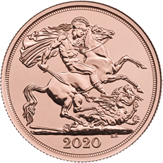 The Double Sovereign 2020 Gold Bullion Coin