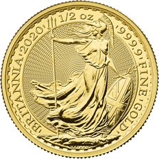 Britannia 2020 1/2 oz Gold Coin