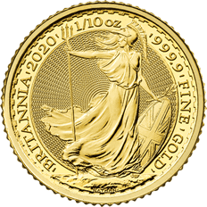Britannia 2020 1/10 oz Gold Coin