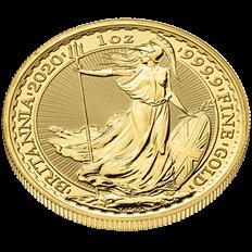 Britannia 2020 1 oz Gold Ten Coin Tube