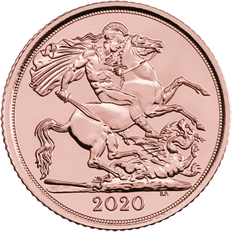 The Half Sovereign 2020 Gold Bullion Coin